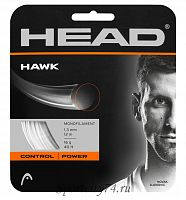 Теннисная струна Head Hawk 130/16 White 200
