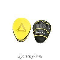 Лапы боксерские Reebok Hook and Jab Pads Yellow
