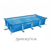 Бассейн каркасный Intex Rectangular Frame Pool 28273/733204