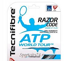 Теннисная струна Tecnifibre Razor Code ATP World Tour 1.25 12.0 Black
